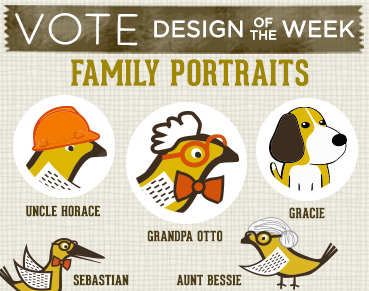 Vote for Family Portraits Designs