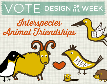 Vote for Interspecies Animal Friendships Designs