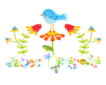 Janet_nimiroski_blue_bird__logo_straight_name_final_for_spoonflower_thumb