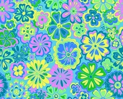 Wildflowers_light_blues_greens_small_image_preview