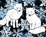 Foxes___flakes_blue_thumb