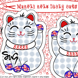 Maneki_neko_lucky_cat_cut_sew_preview