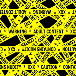 Contains_nudity_tape_yellow_and_black_preview