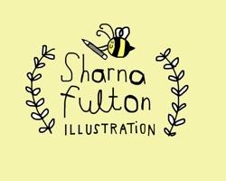 Sharnafultonillustrationhoneyblack_preview
