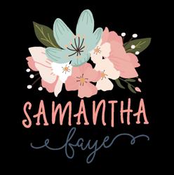 Samantha_faye_-_logo_square_-_flowers_preview