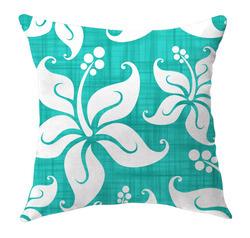 Tropica_hawaiian_flower_throw_pillow_aqua_image_preview