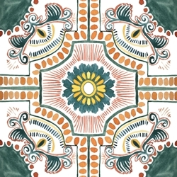 Tile_-_green-orange_preview