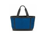 Canvas___leather_tote_with_pleated_side_panels_thumb